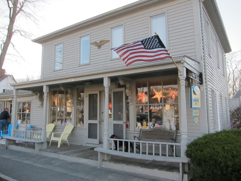 Cape Cod Candy at Nancy's Candy Etc.'s front porch