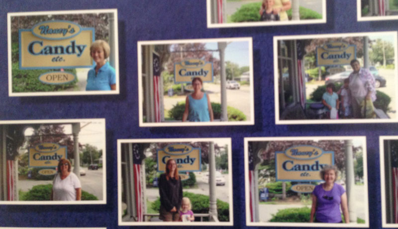 "Come Find Your Picture on the ""Wall of Nancy's"""