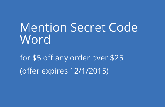 Secret Word Coupon