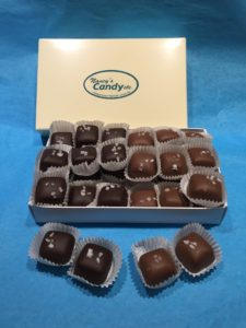 Box of salted Caramels