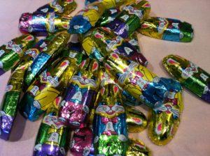 Chocolate Foil Bunnies