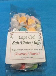 Bag of Cape Cod Salt Water Taffy
