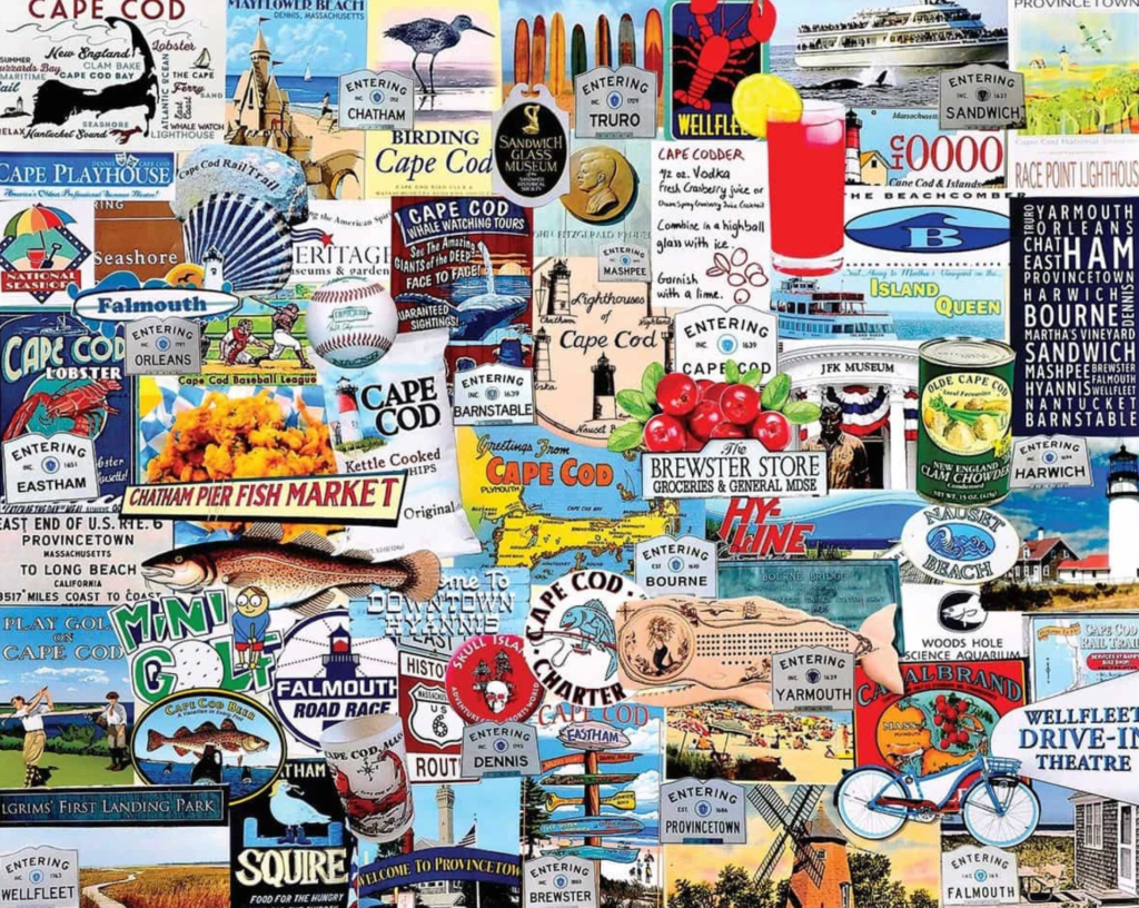 Cape Cod Places Jigsaw Puzzle